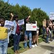 Parents, children rally against California school mask mandate