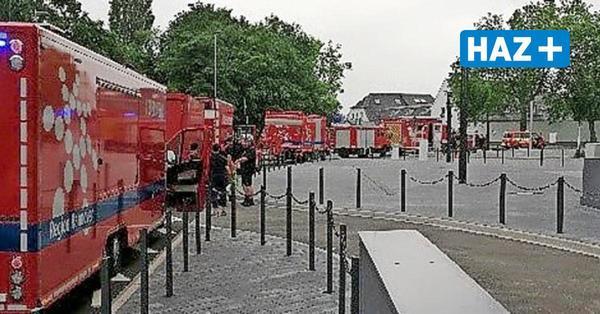 Im Krisengebiet angekommen: Feuerwehrleute aus der Region Hannover helfen in Euskirchen