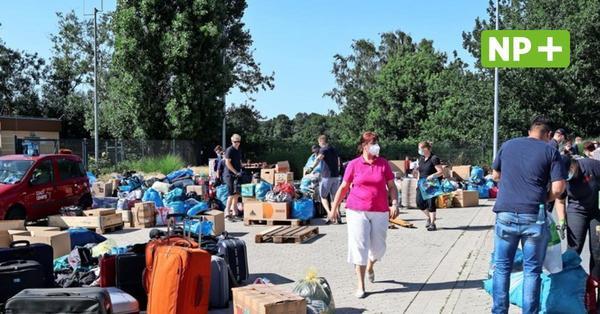 Große Hilfsbereitschaft: Hunderte Lehrter bringen Spenden für Flutopfer