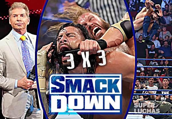 3×3: Lo mejor y lo peor de WWE SmackDown 16 de julio 2021