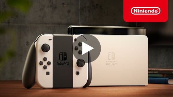 Nintendo Switch (OLED model) - Announcement Trailer