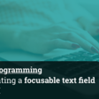 MacOS Programming: Implementing A Focusable Text Field In SwiftUI