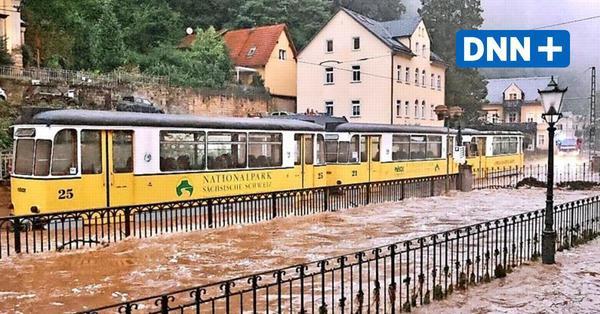 Hochwasser in Sachsen: So wütete das Unwetter in Bad Schaundau und Umgebung