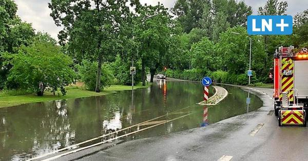 Unwetter in Ostholstein: Reicht das Rohrnetz bei Starkregen aus?