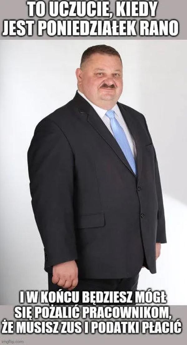 Pan Stanisław jest podobno przesympatycznym człowiekiem