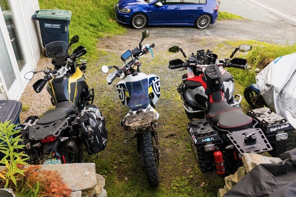F750GS, 701 LR and GS Adventure