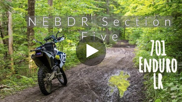 Riding the NEBDR Section 5 on the Husqvarna 701 LR (Northeast Backcountry Discovery Route)