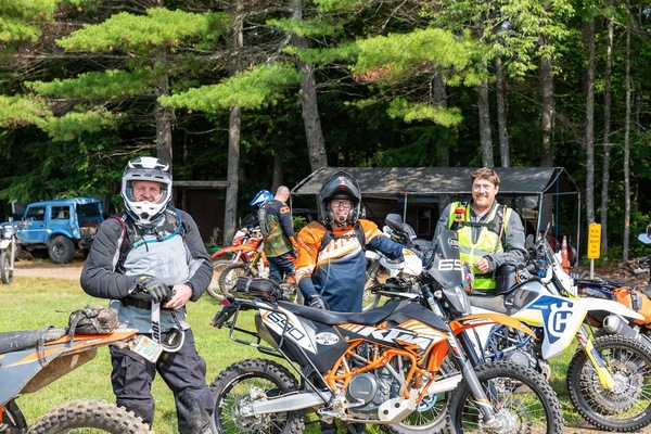 Neil, Harry and Jesse ready to ride