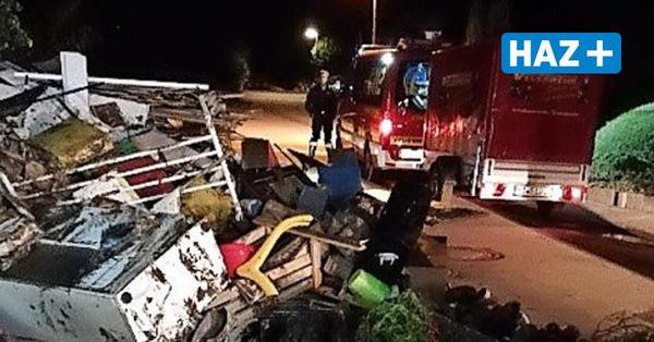 Im Krisengebiet: Feuerwehrleute aus Hannover erleben unheimliche Szenen