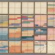 Discover the 1820's Color-Coded System for Memorizing Historical Events, Which Resembled Modern Art (1820)