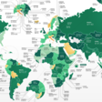 How much does it cost to start a business? There's a world map for that
