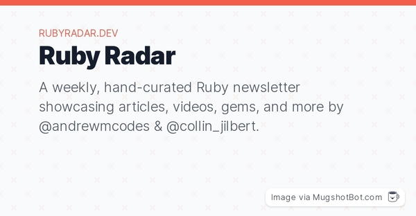 GitHub - therubyradar/submissions: Submit content for upcoming issues of Ruby Radar.