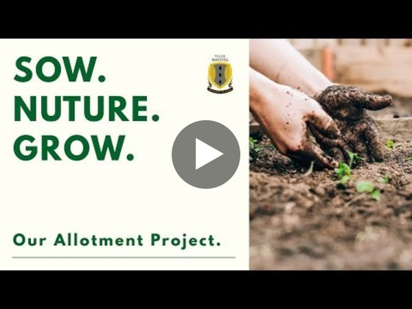 Sow. Nurture. Grow. // Maesteg School // Our Allotment Project