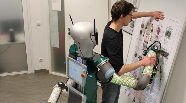 Responsive skin makes better robot helpers