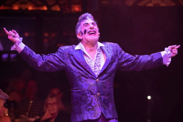 Frank Ferrante reprises his role as The Caesar in the revamped Teatro ZinZanni.   Provided