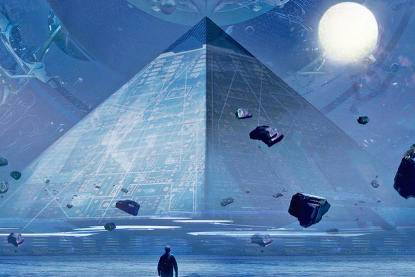 The Three Body Problem book cover from Tor.com (see below)