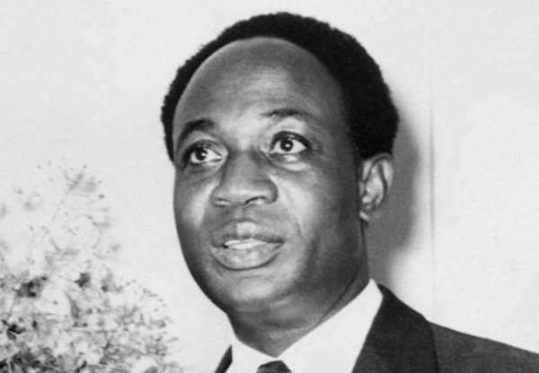 Dr Kwame Nkrumah and his broken shoes