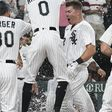Gavin Sheets' walk-off homer gives Sox doubleheader split with Twins