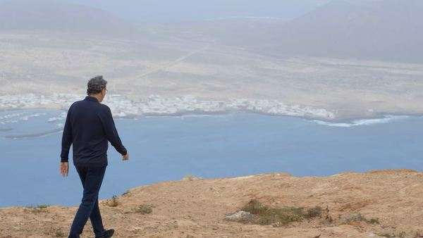 The Lanzarote landscape is just amazing; this is near the Mirador del Rio looking at La Graciosa