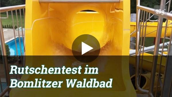 Rutschentest im Bomlitzer Waldbad