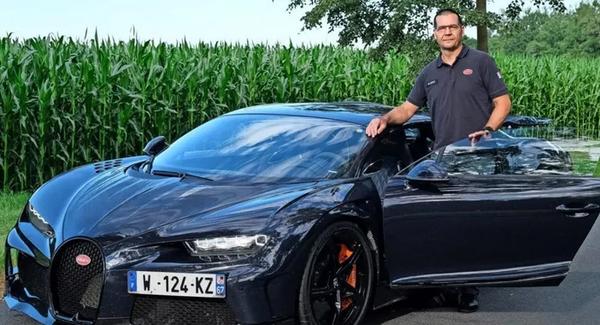 Schneller als die Formel 1: Wolfsburger Testfahrer fährt im Bugatti 447 km/h