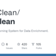 GitHub - HoloClean/holoclean: A Machine Learning System for Data Enrichment.