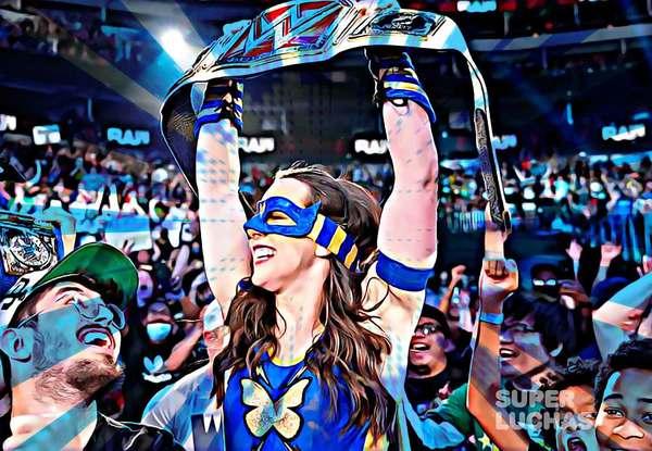 El Universo WWE enloquece con la coronación de Nikki A.S.H.