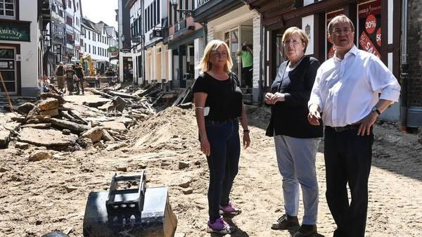 Armin Laschet: Wie der CDU-Chef um sein Image als Krisenmanager bei dem Hochwasser kämpft