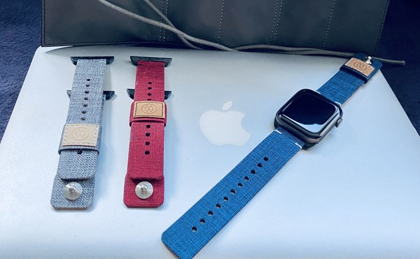 Colorful canvas bands a strong, stylish fit for Apple Watch [Review]