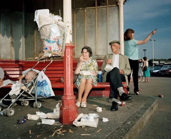 Martin Parr – Great Britain. England. New Brighton. From The Last Resort, 1983-85
