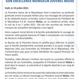 """Martine Moïse on Twitter: """"Note relative à la cérémonie funéraire du chef de l'état SON EXCELLENCE MONSIEUR JOVENEL MOÏSE.… """""""