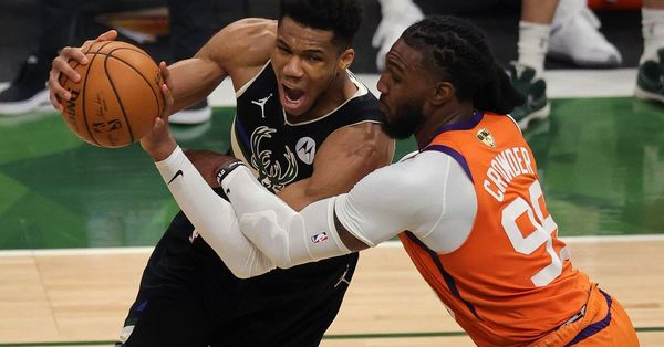 Bucks' 50-year wait ends with a NBA title behind 50 from Giannis