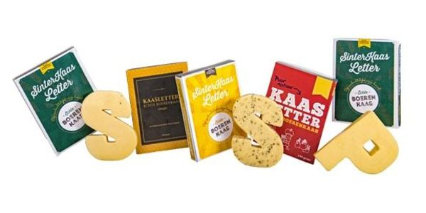 Kaasletter: een typisch Nederlandse variant op de chocoladeletter