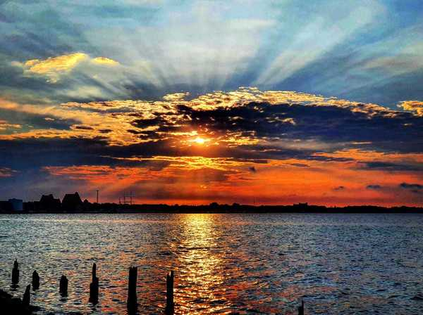 Sonnenuntergang (Foto: Daniel Pieth)