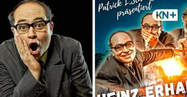 Patrick Schmitz tritt mit Heinz-Erhardt-Programm in Bad Segeberg auf