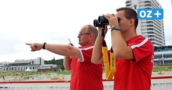 """Rettungsschwimmer von Warnemünde: """"Genau hinzusehen ist nicht alles"""""""