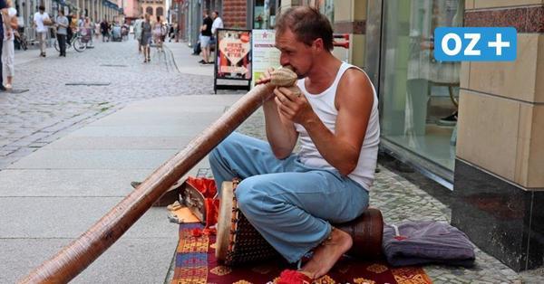 Vom Bass zum Didgeridoo: Ex-Punkrocker aus Stralsunder Umgebung liebt kulturelle Instrumente