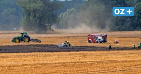 Auto löst Brand in Schmedshagen bei Stralsund aus: Fahrlässige Brandstiftung