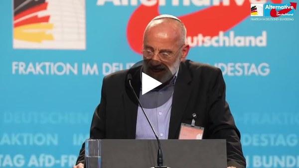 Chaim Noll bei einer Veranstaltung der AfD-Fraktion im Bundestag am 24.06.2021