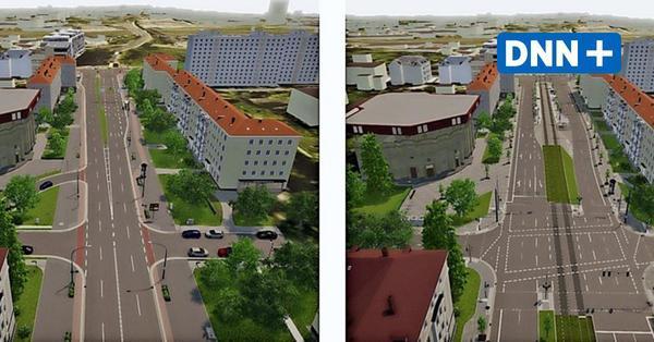Nürnberger Straße in Dresden: So reagiert die Stadt auf die Kritik von ADFC und VCD