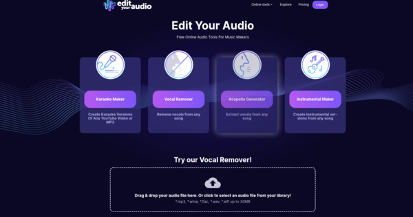 Edit Your Audio - Free Online Audio Tools For Music Makers