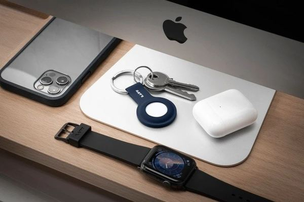 Add color, protection and utility to AirTag with Laut's new silicone case
