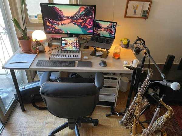 M1 MacBook Air and iPad Air help make a music studio [Setups]