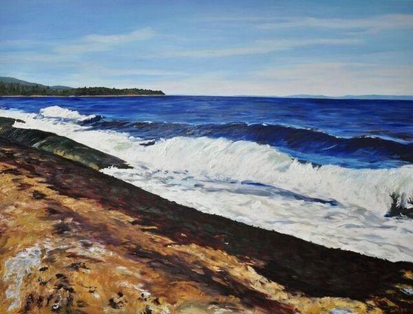Jody Waldie | Georgia Strait (2019) | Available for Sale | Artsy