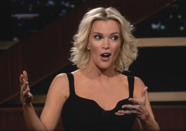 Media personality Megyn Kelly guests on the HBO show, 'Real Time with Bill Maher. HBO