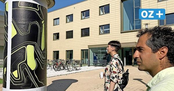 Greifswalds öffentlicher Raum wird zur Galerie: Kunst statt Werbung