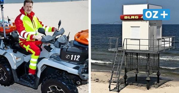 Keine Retter: Darum sind auf Usedom und Rügen trotz Hochsaison Rettungstürme unbesetzt
