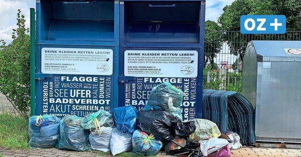 Müllberge in Grimmen: Stadt mahnt Bürger zu mehr Sauberkeit