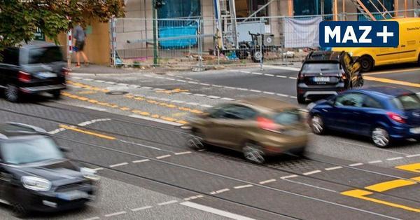 Dauerbaustelle Behlertstraße: So massiv wirken sich die Sperrungen auf Potsdams Verkehr aus