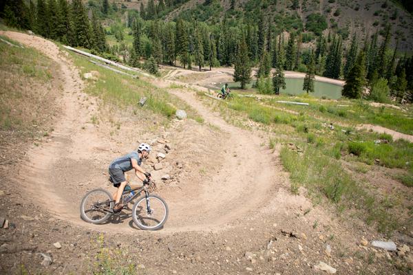 An abandoned coal mine near Aspen has become a mountain biking park for the masses